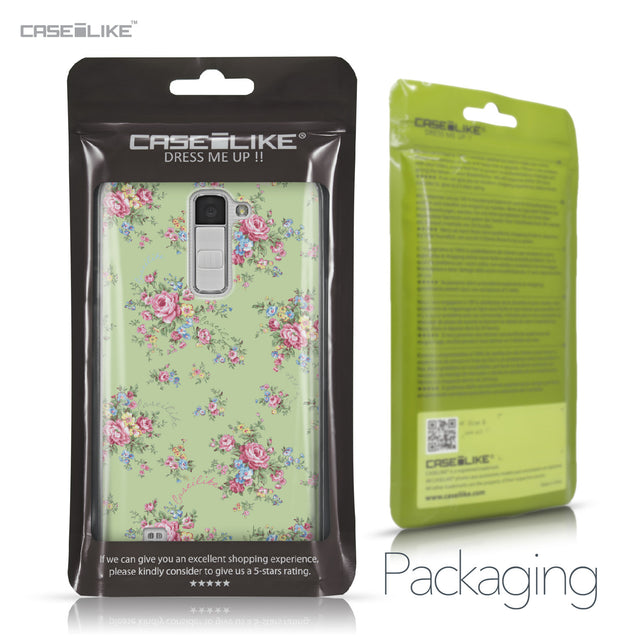 LG K10 case Floral Rose Classic 2262 Retail Packaging | CASEiLIKE.com