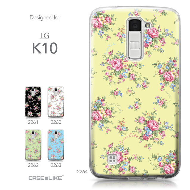 LG K10 case Floral Rose Classic 2264 Collection | CASEiLIKE.com