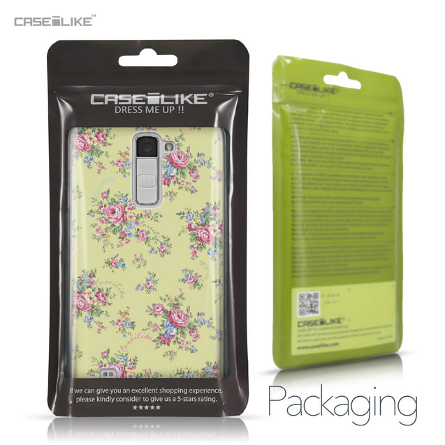 LG K10 case Floral Rose Classic 2264 Retail Packaging | CASEiLIKE.com