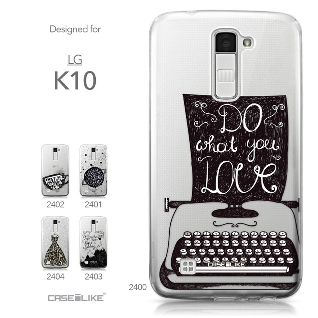 LG K10 case Quote 2400 Collection | CASEiLIKE.com