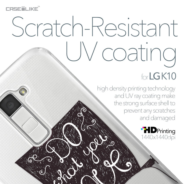 LG K10 case Quote 2400 with UV-Coating Scratch-Resistant Case | CASEiLIKE.com