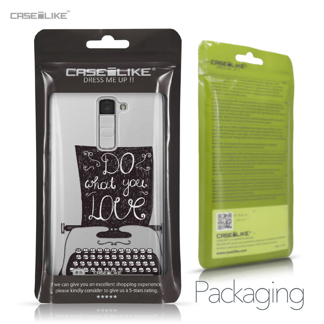 LG K10 case Quote 2400 Retail Packaging | CASEiLIKE.com