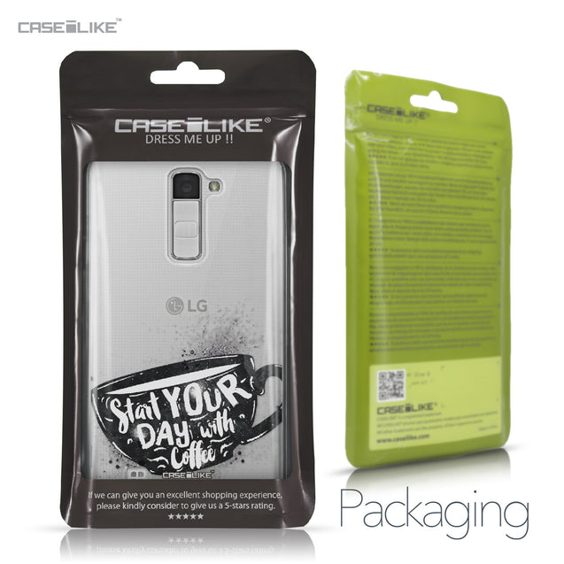 LG K10 case Quote 2402 Retail Packaging | CASEiLIKE.com