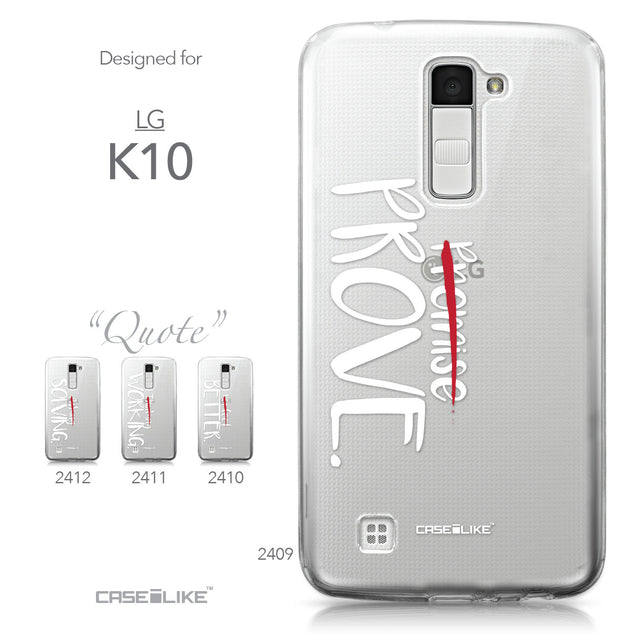 LG K10 case Quote 2409 Collection | CASEiLIKE.com