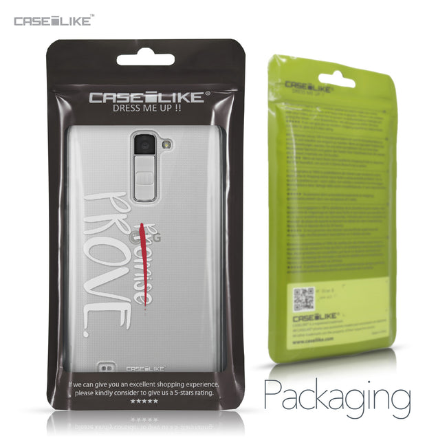 LG K10 case Quote 2409 Retail Packaging | CASEiLIKE.com