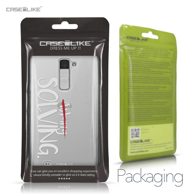LG K10 case Quote 2412 Retail Packaging | CASEiLIKE.com