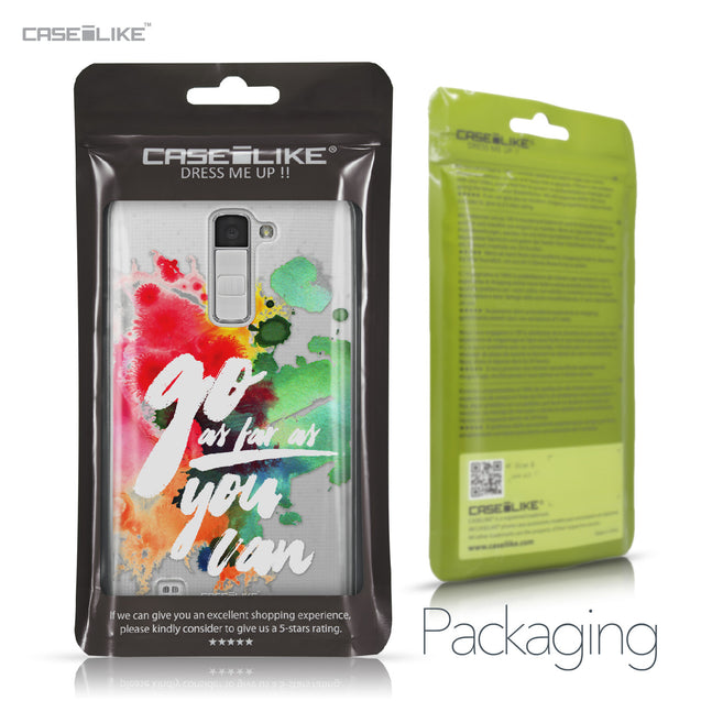 LG K10 case Quote 2424 Retail Packaging | CASEiLIKE.com