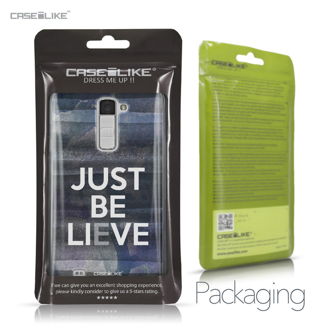 LG K10 case Quote 2430 Retail Packaging | CASEiLIKE.com