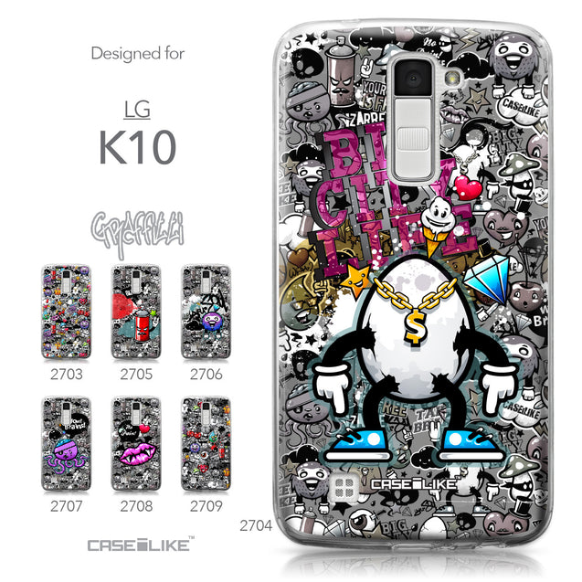 LG K10 case Graffiti 2704 Collection | CASEiLIKE.com