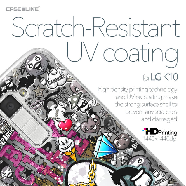 LG K10 case Graffiti 2704 with UV-Coating Scratch-Resistant Case | CASEiLIKE.com