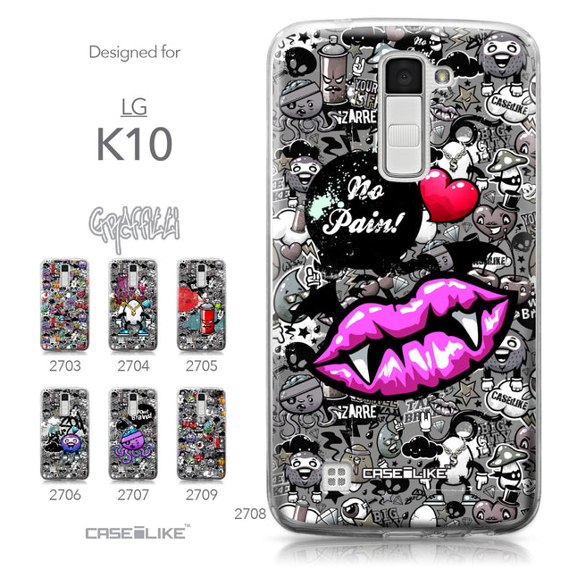 LG K10 case Graffiti 2708 Collection | CASEiLIKE.com