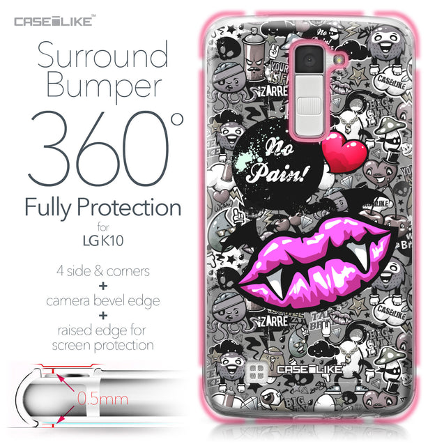 LG K10 case Graffiti 2708 Bumper Case Protection | CASEiLIKE.com