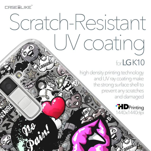 LG K10 case Graffiti 2708 with UV-Coating Scratch-Resistant Case | CASEiLIKE.com
