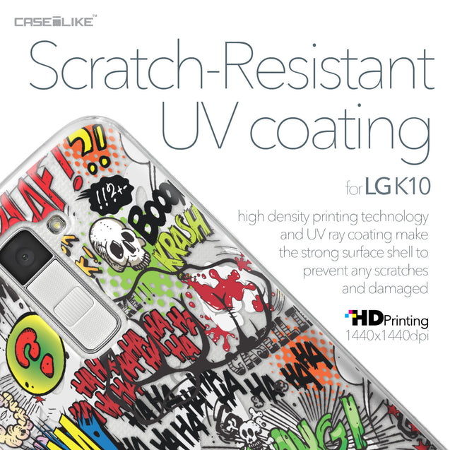 LG K10 case Comic Captions 2914 with UV-Coating Scratch-Resistant Case | CASEiLIKE.com