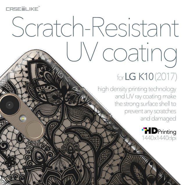 LG K10 2017 case Lace 2037 with UV-Coating Scratch-Resistant Case | CASEiLIKE.com