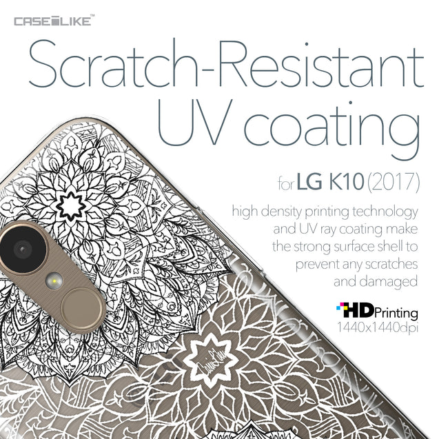 LG K10 2017 case Mandala Art 2093 with UV-Coating Scratch-Resistant Case | CASEiLIKE.com