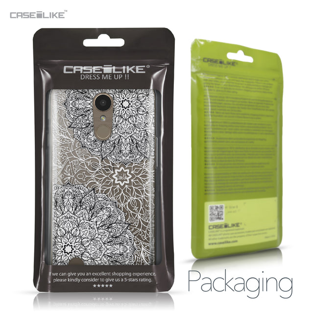 LG K10 2017 case Mandala Art 2093 Retail Packaging | CASEiLIKE.com