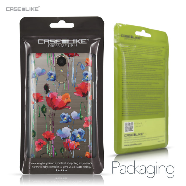 LG K10 2017 case Watercolor Floral 2234 Retail Packaging | CASEiLIKE.com