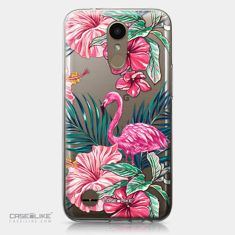 LG K10 2017 case Tropical Flamingo 2239 | CASEiLIKE.com