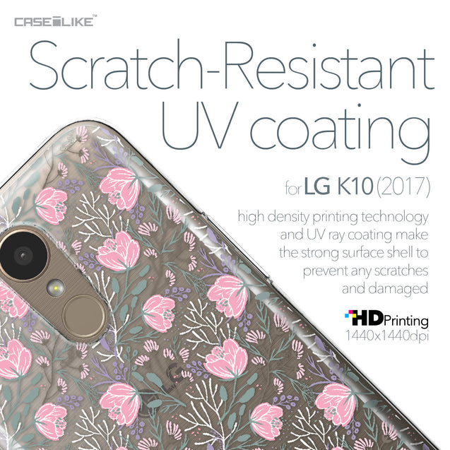LG K10 2017 case Flowers Herbs 2246 with UV-Coating Scratch-Resistant Case | CASEiLIKE.com