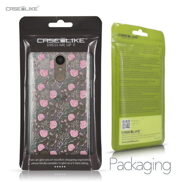 LG K10 2017 case Flowers Herbs 2246 Retail Packaging | CASEiLIKE.com