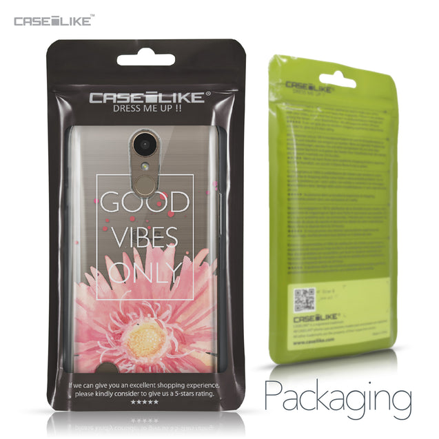 LG K10 2017 case Gerbera 2258 Retail Packaging | CASEiLIKE.com