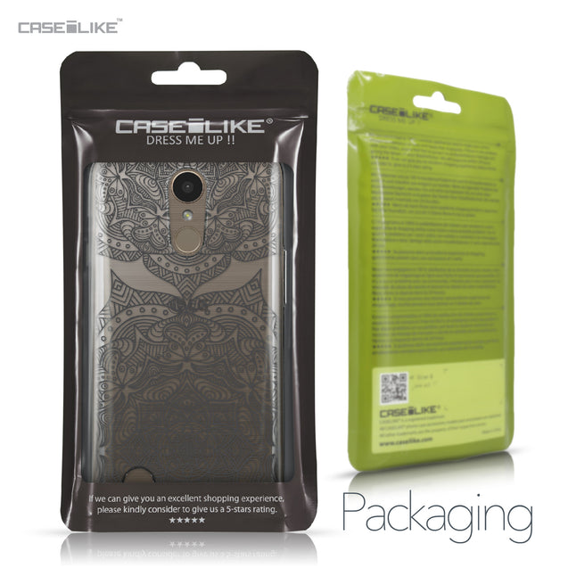 LG K10 2017 case Mandala Art 2304 Retail Packaging | CASEiLIKE.com