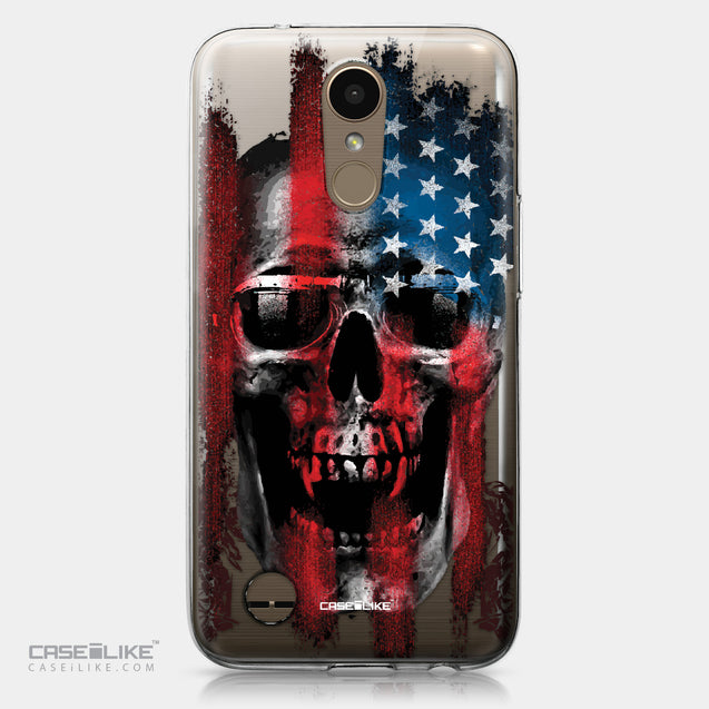 LG K10 2017 case Art of Skull 2532 | CASEiLIKE.com