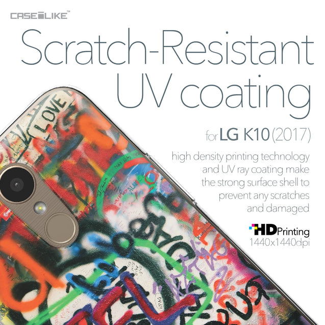 LG K10 2017 case Graffiti 2721 with UV-Coating Scratch-Resistant Case | CASEiLIKE.com