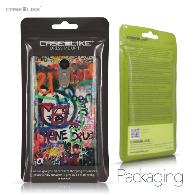 LG K10 2017 case Graffiti 2721 Retail Packaging | CASEiLIKE.com