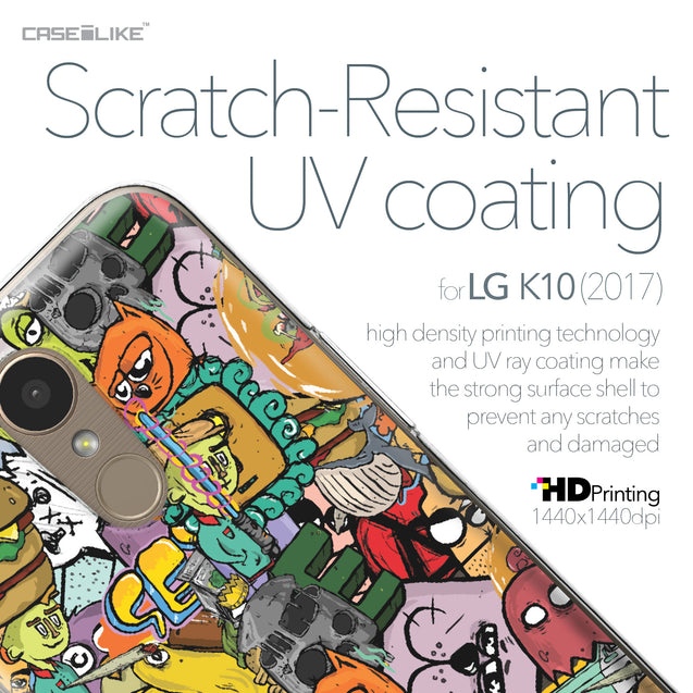 LG K10 2017 case Graffiti 2731 with UV-Coating Scratch-Resistant Case | CASEiLIKE.com