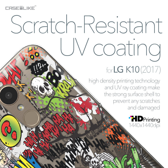 LG K10 2017 case Comic Captions 2914 with UV-Coating Scratch-Resistant Case | CASEiLIKE.com