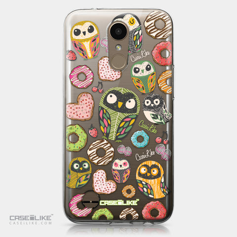 LG K10 2017 case Owl Graphic Design 3315 | CASEiLIKE.com