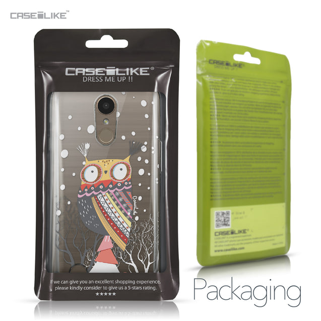 LG K10 2017 case Owl Graphic Design 3317 Retail Packaging | CASEiLIKE.com