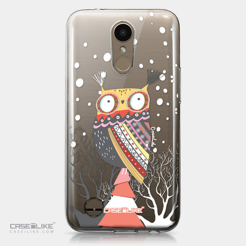 LG K10 2017 case Owl Graphic Design 3317 | CASEiLIKE.com