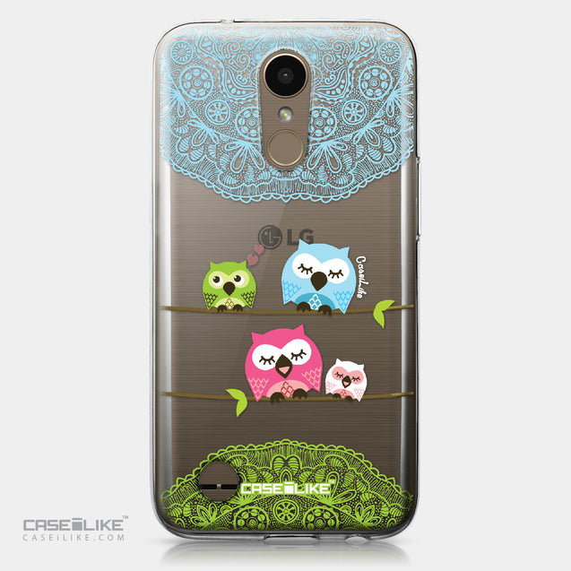 LG K10 2017 case Owl Graphic Design 3318 | CASEiLIKE.com