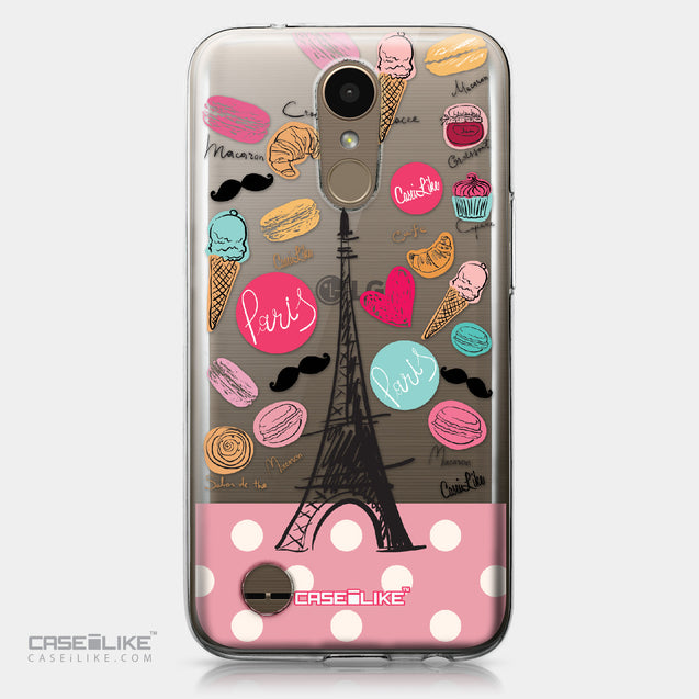 LG K10 2017 case Paris Holiday 3904 | CASEiLIKE.com