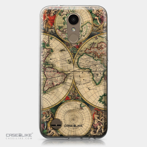 LG K10 2017 case World Map Vintage 4607 | CASEiLIKE.com