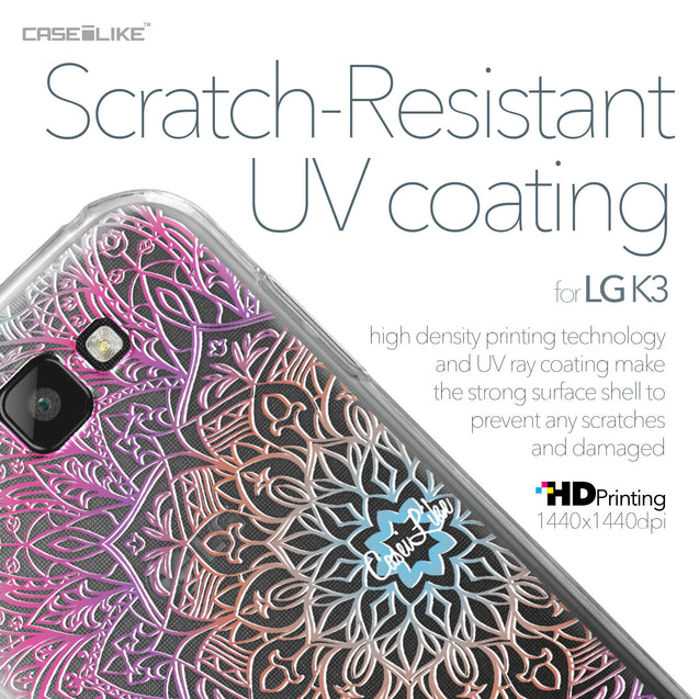 LG K3 case Mandala Art 2090 with UV-Coating Scratch-Resistant Case | CASEiLIKE.com