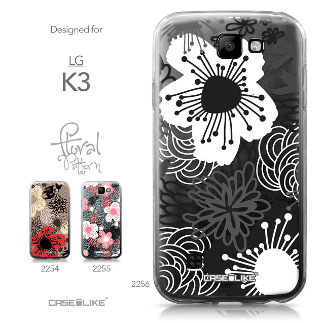 LG K3 case Japanese Floral 2256 Collection | CASEiLIKE.com