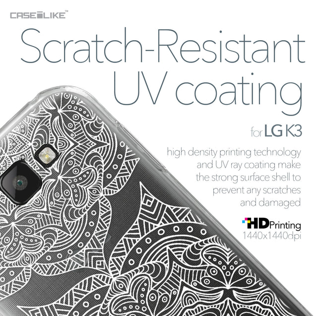 LG K3 case Mandala Art 2303 with UV-Coating Scratch-Resistant Case | CASEiLIKE.com