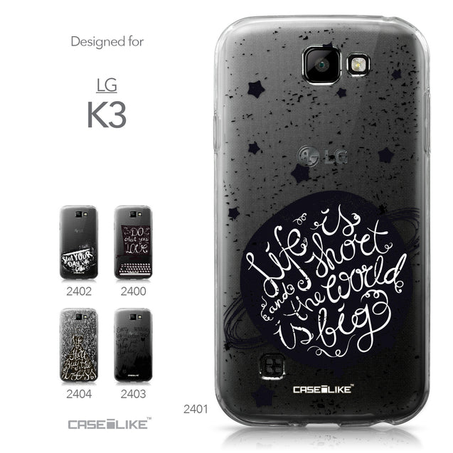 LG K3 case Quote 2401 Collection | CASEiLIKE.com