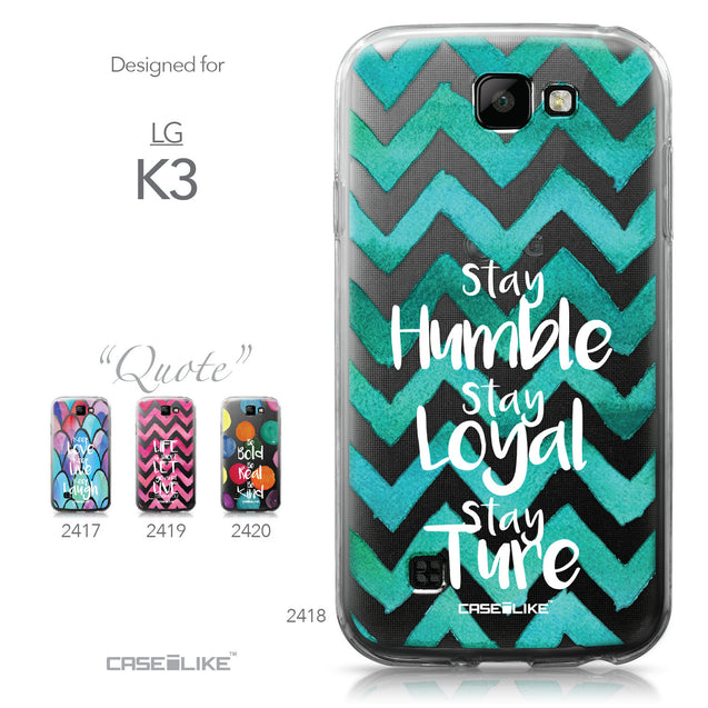 LG K3 case Quote 2418 Collection | CASEiLIKE.com