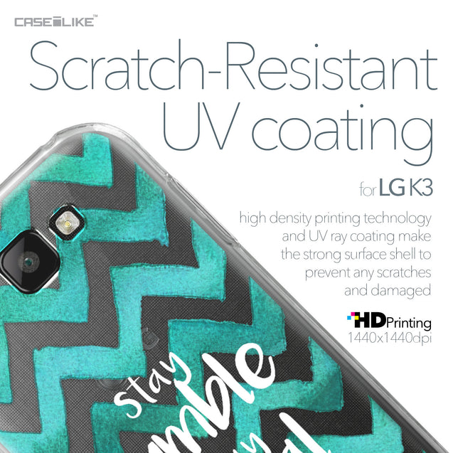 LG K3 case Quote 2418 with UV-Coating Scratch-Resistant Case | CASEiLIKE.com