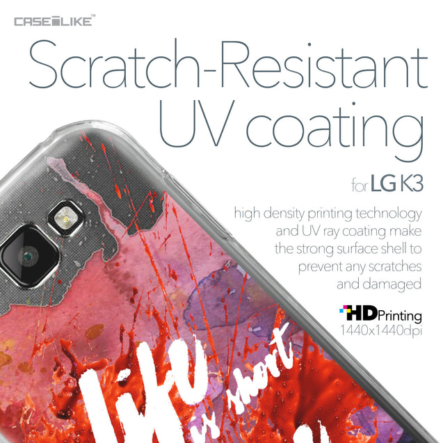 LG K3 case Quote 2423 with UV-Coating Scratch-Resistant Case | CASEiLIKE.com