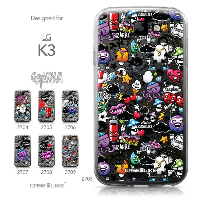 LG K3 case Graffiti 2703 Collection | CASEiLIKE.com