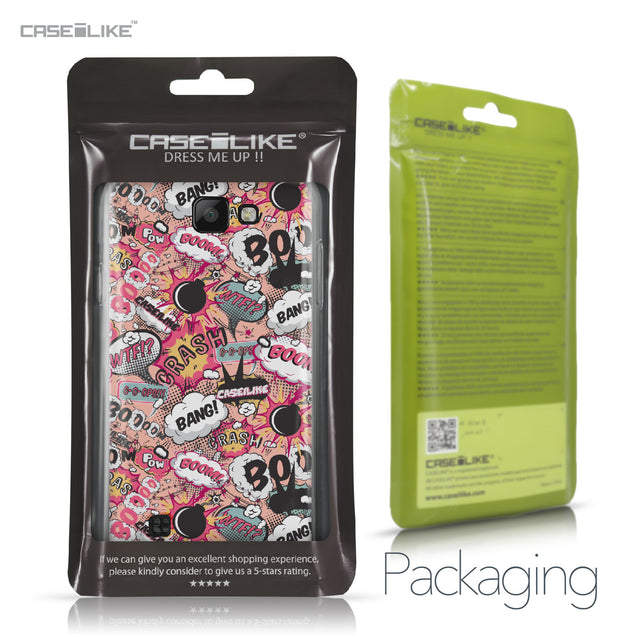 LG K3 case Comic Captions Pink 2912 Retail Packaging | CASEiLIKE.com