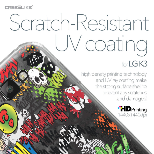 LG K3 case Comic Captions 2914 with UV-Coating Scratch-Resistant Case | CASEiLIKE.com
