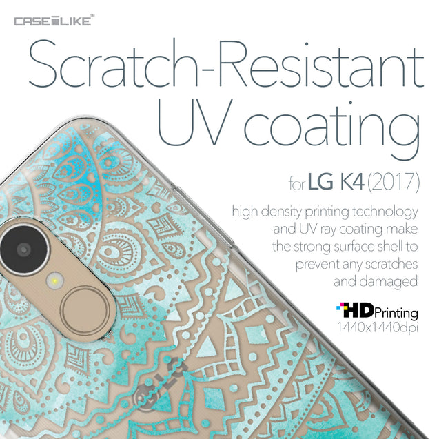 LG K4 2017 case Indian Line Art 2066 with UV-Coating Scratch-Resistant Case | CASEiLIKE.com