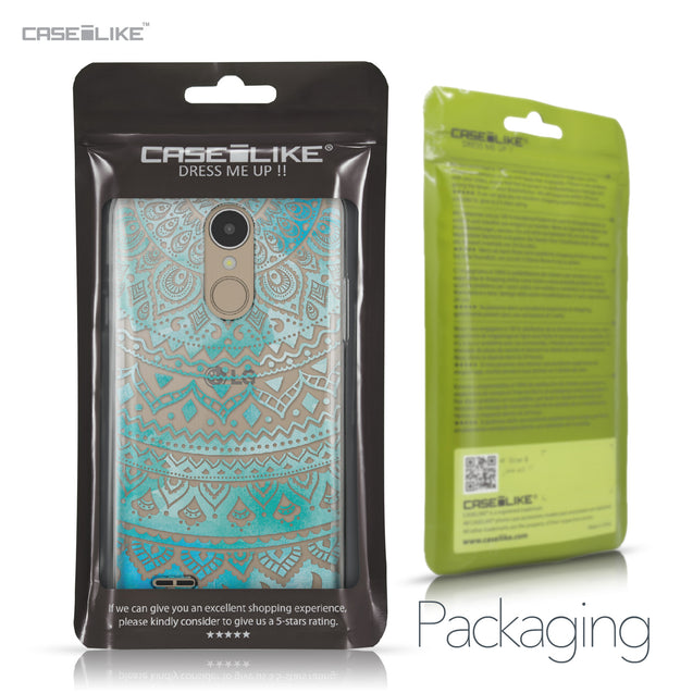 LG K4 2017 case Indian Line Art 2066 Retail Packaging | CASEiLIKE.com